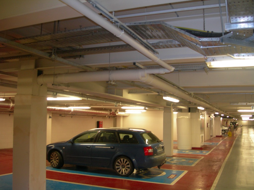 Multi Level Car Park (Top Deck Drainage)